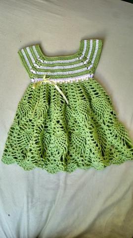 Vestido em crochê - Foto 2