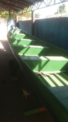 Canoa alumínio sem motor - Foto 3