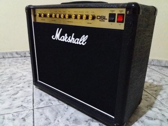 Amplificador Marshall Dsl 40C Valvulado - Foto 3