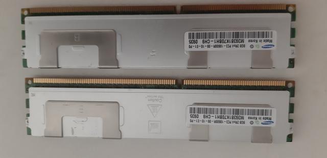 Memoria RAM PC ECC DDR3 8GB 10600 com dissipador - Foto 4