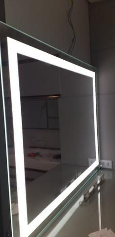 Box/Espelho com Iluminação Interna/Vidro Temperado - Foto 4