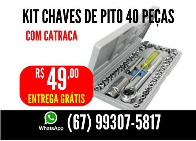 Kit Chaves de pito 40 Peças Entrega Grátis