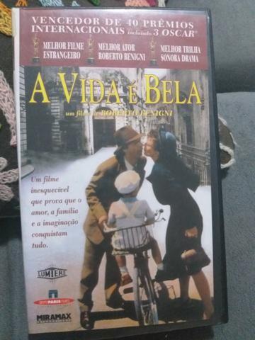 VHS A Vida é Bela