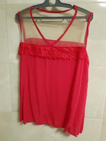 Blusas GG/ XG Femininas de ótima qualidade. Crepe e viscose - Foto 4