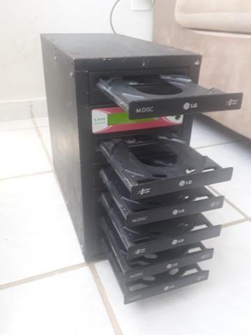 Duplicadora de CDs e DVDs