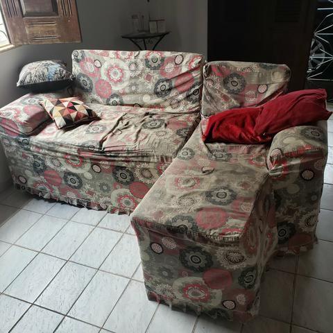 Sofá Muito novo R$550 - Foto 3
