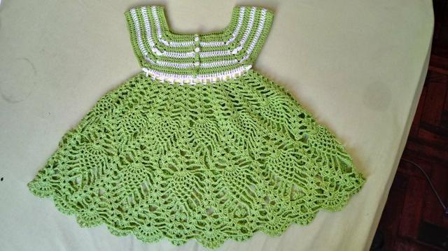 Vestido em crochê - Foto 3