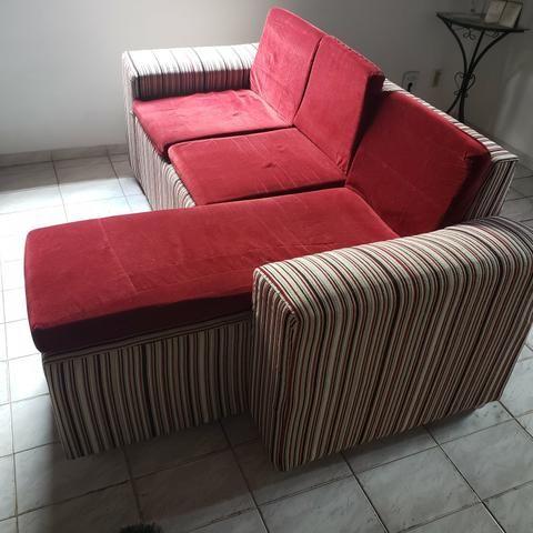Sofá Muito novo R$550 - Foto 2