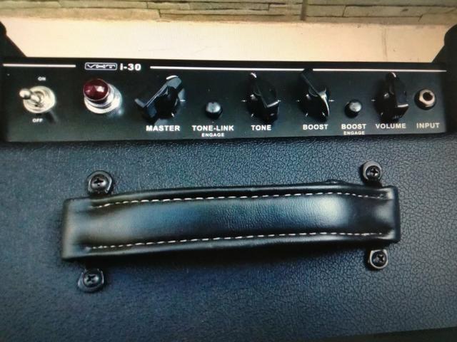 bf66279b6bd45 Abecote guitarra pré valvulado i30 vht - Instrumentos musicais ...