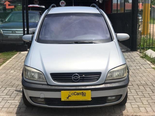 Gm Chevrolet Zafira 20 Cd 20 8v Mpfi 5p Mec 2002 572177064 Olx