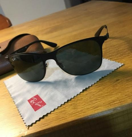 79ba4cc01 Negocío Óculos Ray-Ban novo mais Óculos vogue usado Cortesia ...