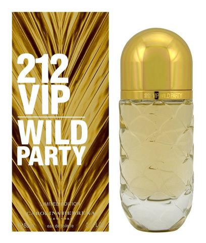 8c0c9346f Perfume Original  Carolina Herrera 212 Wild Party 80ml EDT - Beleza ...