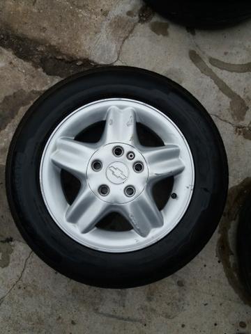 Torro jogo de rodas Chevrolet aro 14 4x100