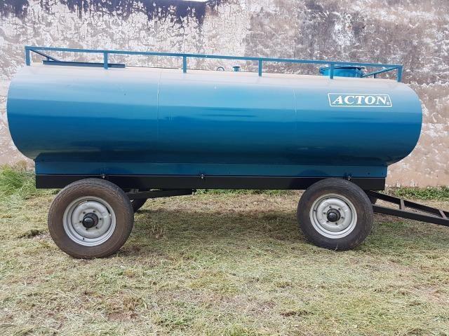 Carreta tanque d'água 5000 litros Acton - Foto 3