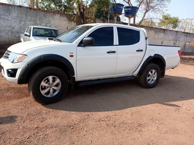 Triton 3.2 4x4 diesel pra venda ou troca - Foto 3