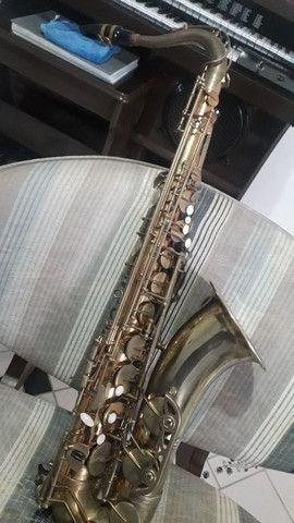 Sax tenor dolphin adição especial instrumento desplacado  - Foto 2
