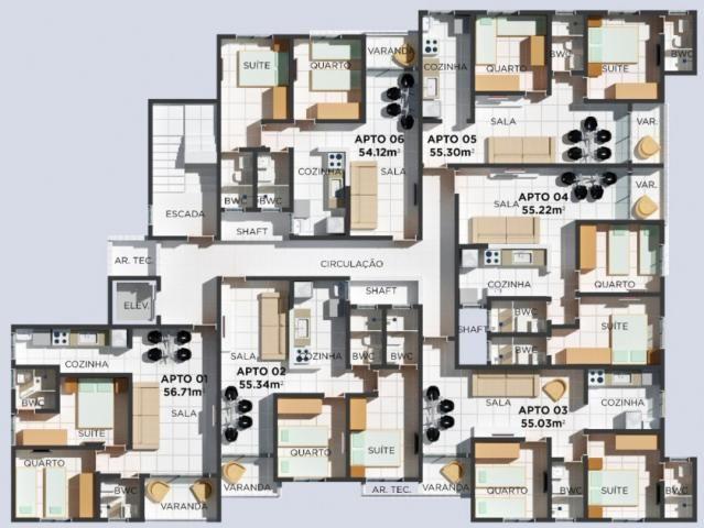 Apartamento à venda com 2 dormitórios em Cristo redentor, João pessoa cod:008144 - Foto 10