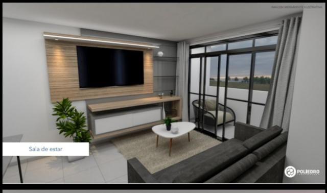 Apartamento à venda com 2 dormitórios em Paratibe, João pessoa cod:007110 - Foto 3