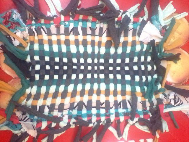 Tapetes artesanais tecidos a mão  - Foto 6