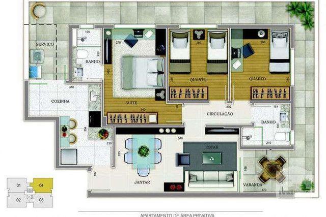 Grand Venue - 76m² - 3 quartos - Santo Antônio, Belo Horizonte - MG - Foto 13