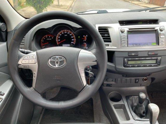 Toyota Hilux 3.0 SRV 2013 TOP Controle tração OPORTUNIDADE ABAIXO FIPE - Foto 16