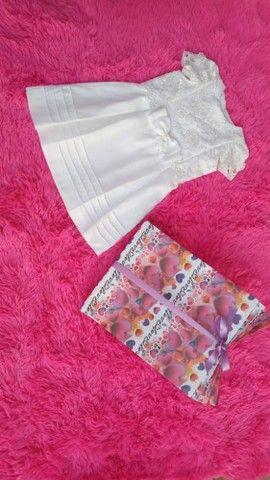Lindos vestidos e calcinhas infantis - Foto 2
