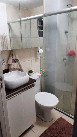Apartamento com 2 dormitórios à venda, 43 m² por R$ 160.000 - Vale das Palmeiras - Sete La - Foto 3
