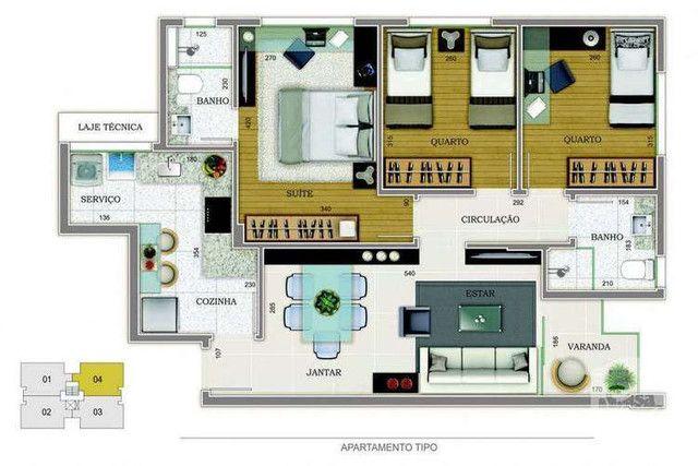 Grand Venue - 76m² - 3 quartos - Santo Antônio, Belo Horizonte - MG - Foto 10