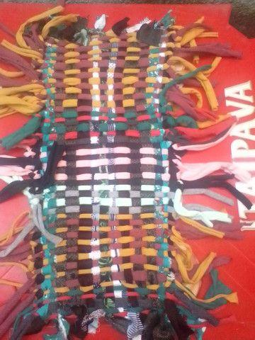 Tapetes artesanais tecidos a mão  - Foto 3