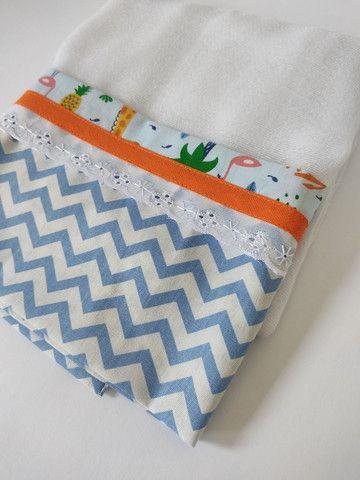Fraldas e toalhas personalizadas - Foto 4