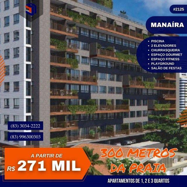 Apartamento para Venda em João Pessoa, Manaíra, 1 dormitório, 1 suíte, 1 banheiro, 1 vaga