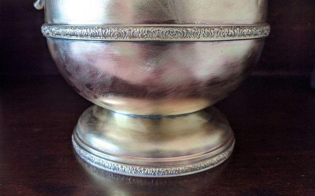 Linda jarra antiga material bronze e cobre - Foto 5