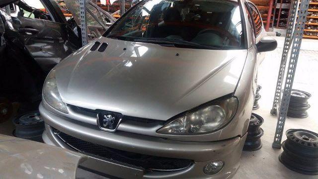 Peças usadas Peugeot 206 2006 1.6 16v flex 113cv manual