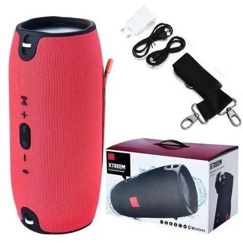 Caixa De Som Primeiralinha Extra Grande Bluetooth 40w Xtreme