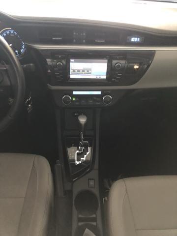 Toyota/Corolla 2.0 xei ano 2016 automático com 45 km - Foto 11