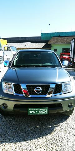 "Caminhao X Nissan Frontier SEL 2.5 Diesel 4x4 Automatica Ano 2008 ""Completa"" - Foto 2"
