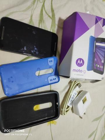 Motorola G3 bem conservado
