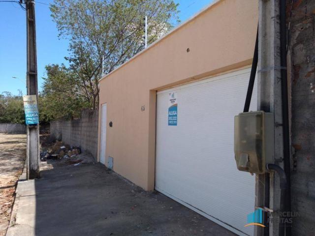 Casa com 3 dormitórios para alugar, 120 m² por r$ 1.239,00/mês - tamatanduba - eusébio/ce - Foto 3