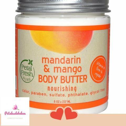 Manteiga Vegana Corporal Petal Fresh Pure - Foto 2