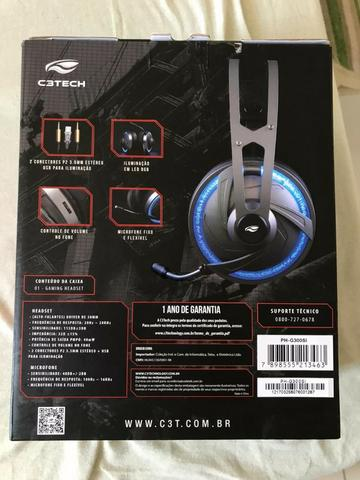 Headset Gamer C3 Tech Goshawk - Foto 2
