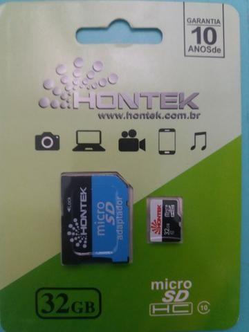 Cartão de memória Micro SD 32GB classe 10 - Foto 2