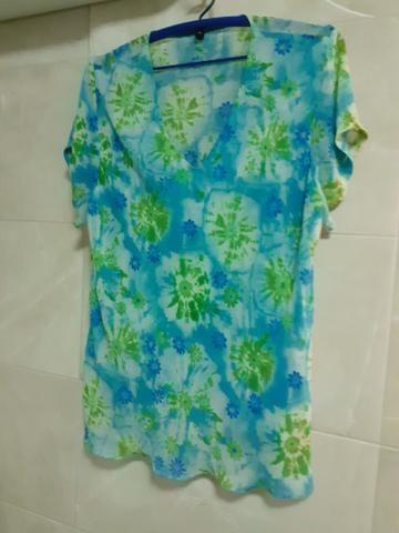 Blusas GG/ XG Femininas de ótima qualidade. Crepe e viscose