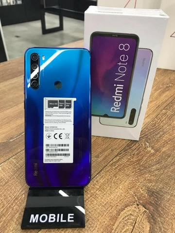 Lancamento-Redmi Note 8 Azul-64Gb-VersaoGlobal-JosueImports - Foto 3