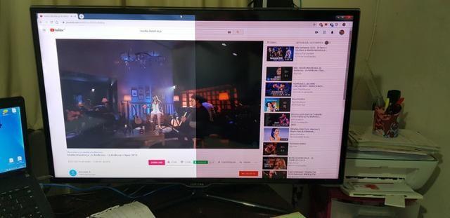Smart TV Led Samsung 40 FullHD com Conversor Digital - Foto 2