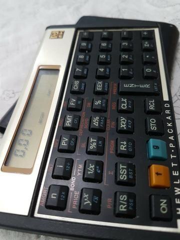 Calculadora Financeira HP 12c Gold - Foto 3