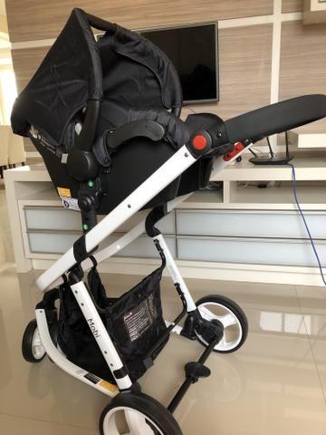 Carrinho de Bebê Passeio Safety 1st Travel System - Mobi com Bebê Conforto