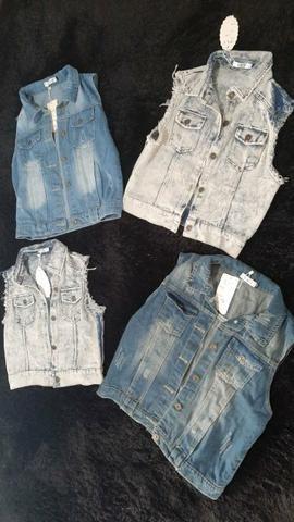 Coletes Jeans PROMOÇÃO