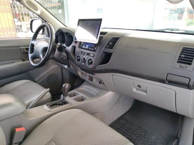 Toyota Hilux CD SR 2.7 WTi 2010 GASOLINA - Foto 20