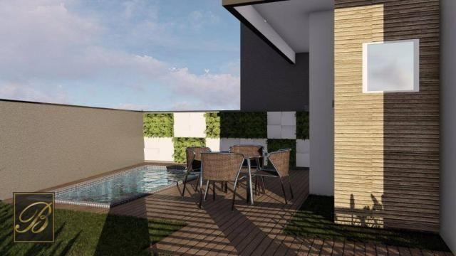 Sobrado com 2 dormitórios à venda, 66 m² por R$ 190.000 - Jardim Iririú - Joinville/SC - Foto 4