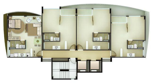 Apartamento em Ponta Negra - 40m² e Cobertura de 80m? - Vida Calma - Foto 5